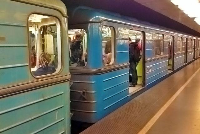 Vagão de metrô da linha M3