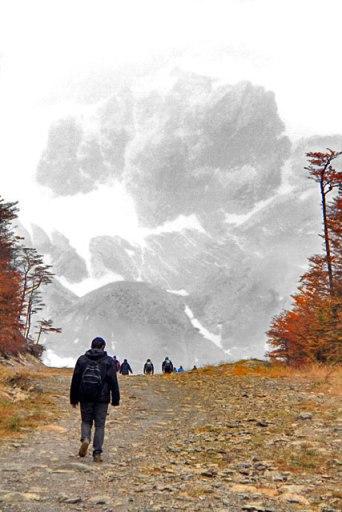 Pista de esqui da Glaciar Martial