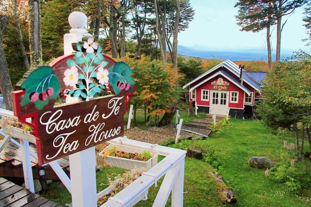 Casa de chá La Cabaña
