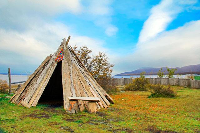 Camping próximo ao Lago Fagnano