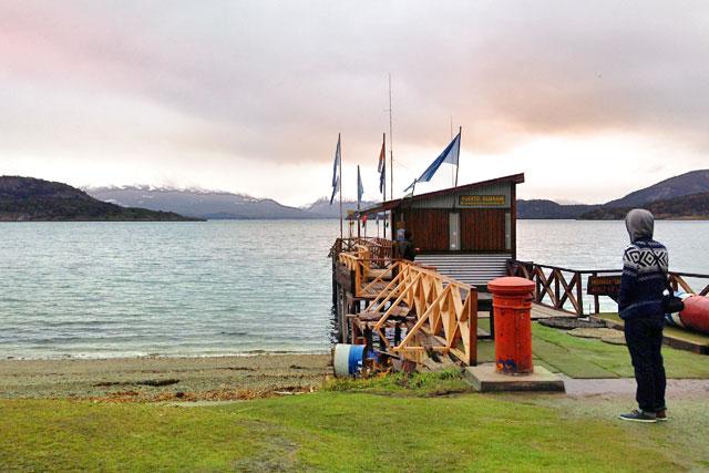 Ensenada Zaratiegui, no Parque Nacional Tierra del Fuego