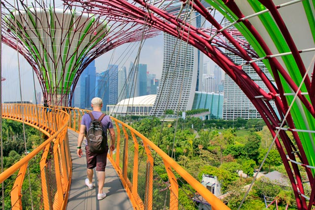 OCBC Skyway, em Gardens by the Bay