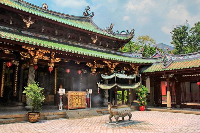 Thian Hock Keng Temple, em Chinatown