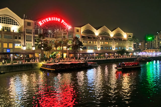 Riverside Point, em Clarke Quay
