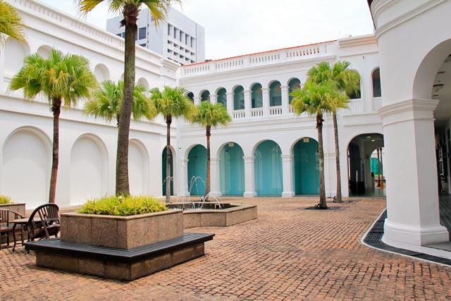 Edifício do Singapore Art Museum (Museu de Arte de Singapura)