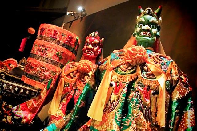 Exposição do Asian Civilisations Museum (Museu das Civilizações Asiáticas)