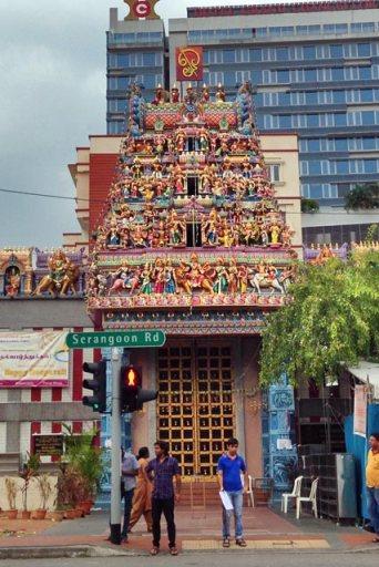 Sri Veeramakaliamman Temple, em Little India