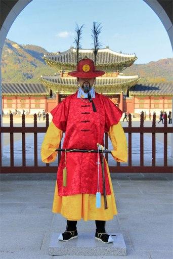 Soldado da Sumunjang, a guarda do Palácio Gyeongbokgung