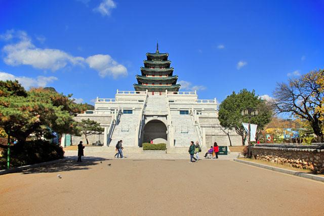 National Folk Museum, no complexo do Palácio Gyeongbokgung