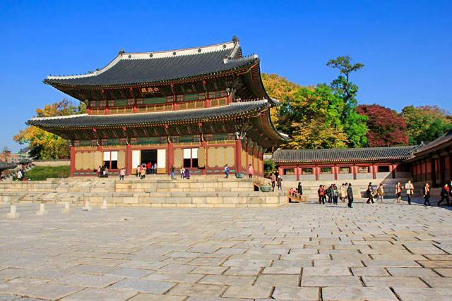 Pavilhão Injeongjeon, no Palácio Changedeokgung