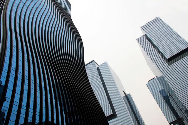 Arranha-céus do distrito de Gangnam-gu