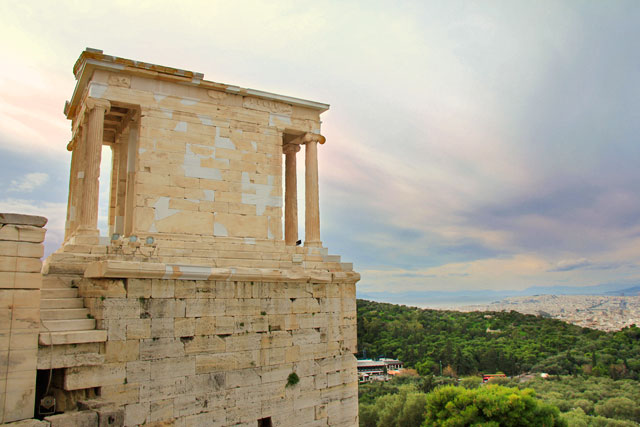 Templo de Atena Nice, na Acrópole