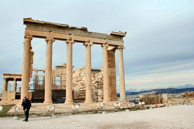 Erecteion, na Acrópole