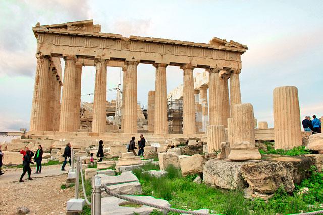Partenon, na Acrópole