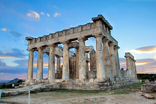 Templo de Afaia, em Egina