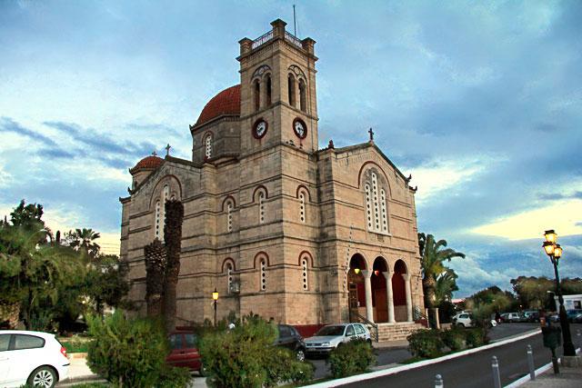 Igreja de Agios Nikolaos, em Egina