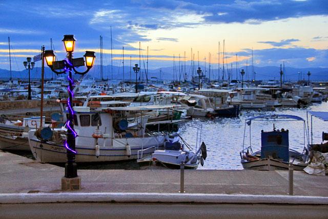 Via costeira de Egina