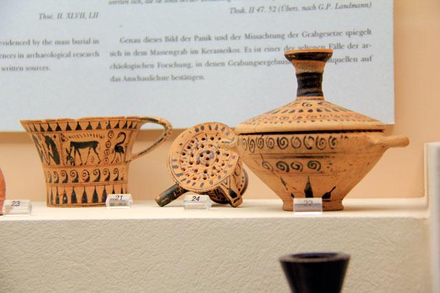 Peças do Museu Arqueológico de Cerâmico