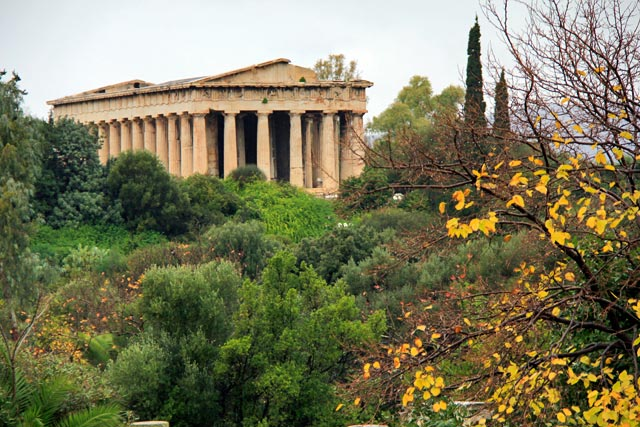Templo de Hefesto, na Ágora de Atenas