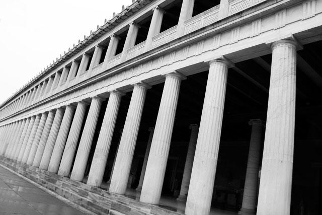 Estoa de Átalo, na Ágora de Atenas