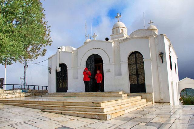 Capela de São Jorge, no Monte Licabeto