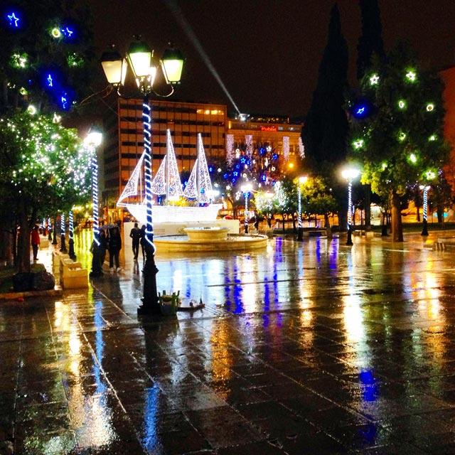 Praça Sintagma (via Instagram)