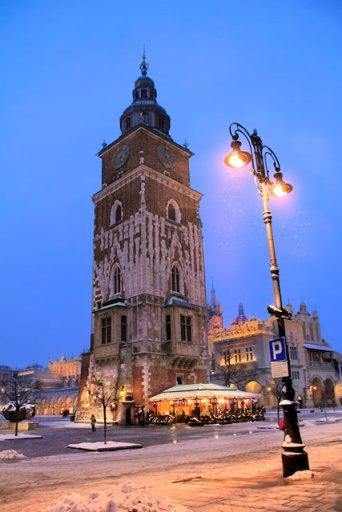 Torre do relógio da antiga prefeitura