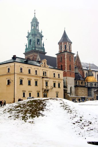 Torres da Catedral de Wawel