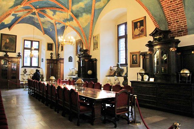 Câmara da Biblioteca Velha, no Collegium Maius