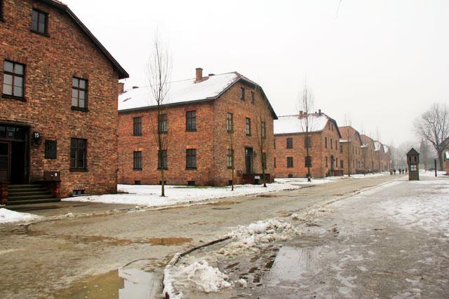 Edifícios de Auschwitz I