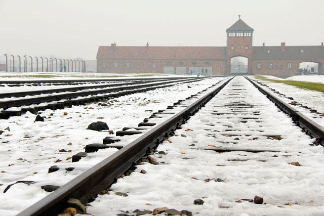 Entrada para Auschwitz II
