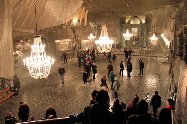 Capela de Santa Cunegunda, nas minas de sal de Wieliczka