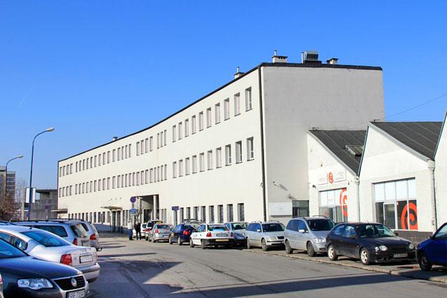 Prédio da antiga fábrica de Oskar Schindler