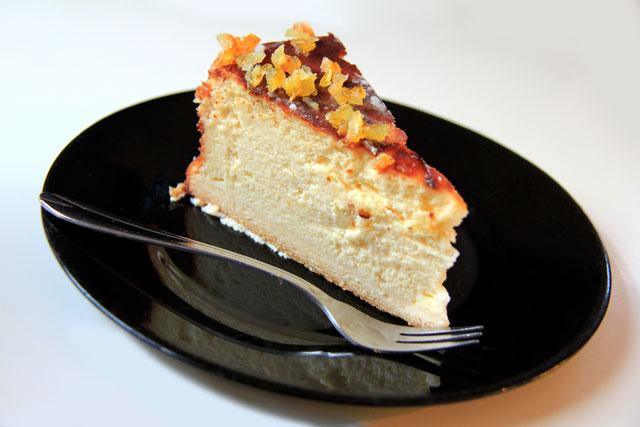 Torta servida em estabelecimento de Kazimiers
