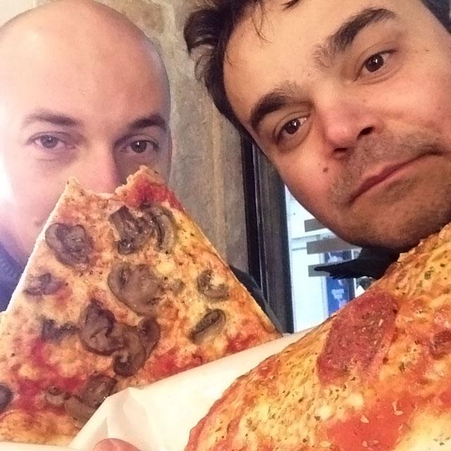 Pizza em Burano (via Instagram)