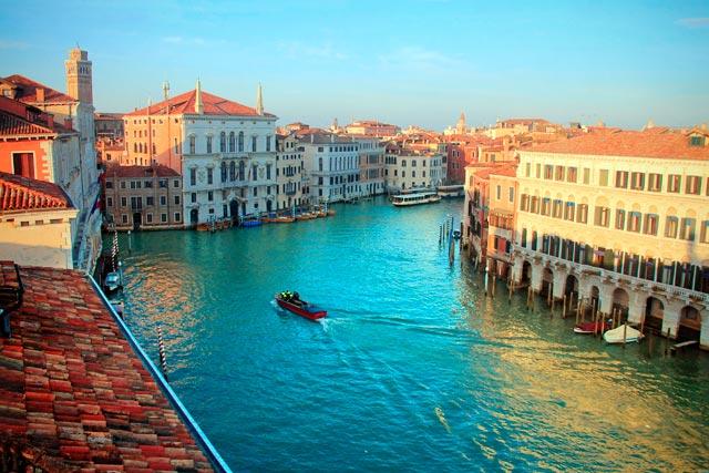 Canal Grande visto do Ca' Rezzonico