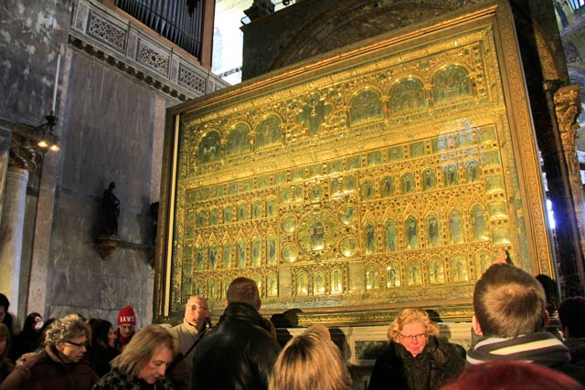 Pala d´Oro, retábulo da Basilica di San Marco