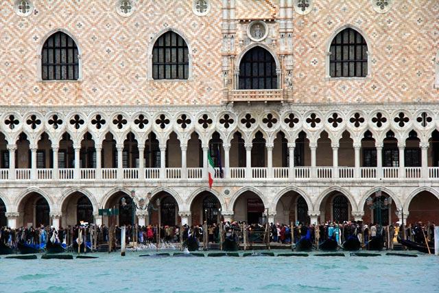Palazzo Ducale visto do barco