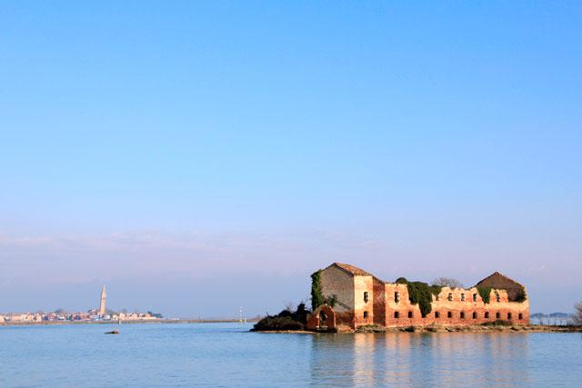 Ilha da Madonna del Monte, na Laguna di Venezia