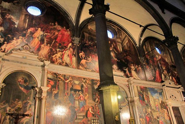 Interior da Chiesa di San Zaccaria
