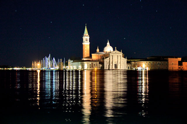 Chiesa di San Giorgio Maggiore, vista do porto San Marco