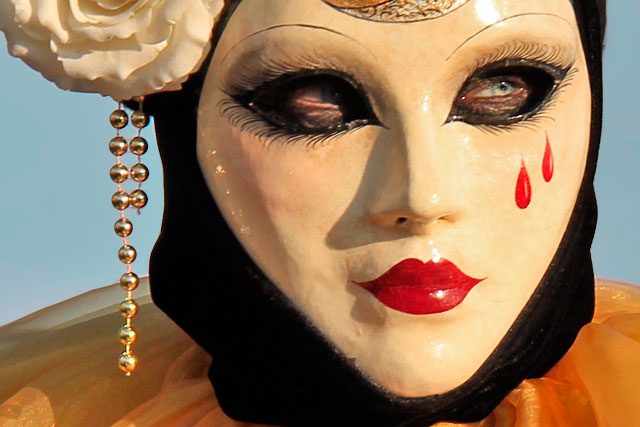 Máscara do carnaval veneziano