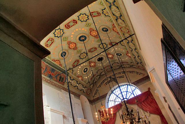 Teto da Sinagoga de Remuh