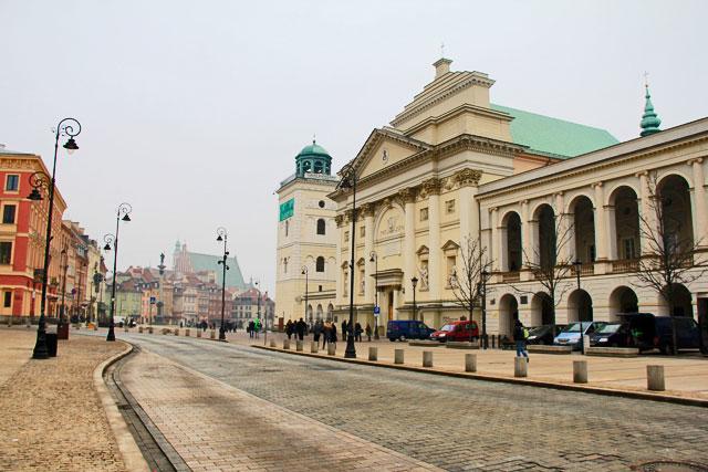 Igreja de Santa Ana e Biblioteca Central da Universidade Agrícola Michael Oczapowskiego, na Cidade Velha
