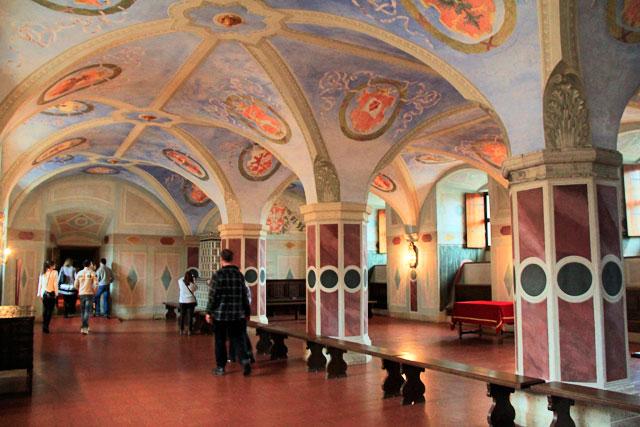 Antiga Câmara dos Deputados (Dawna izba poselska), no Castelo Real