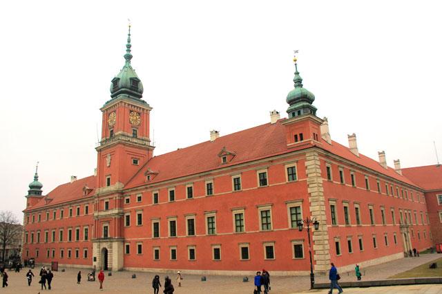 Castelo Real de Varsóvia (Zamek Królewski)