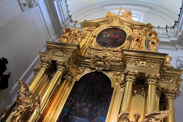 Altar da Igreja da Santa Cruz (Kościół św. Krzyża)