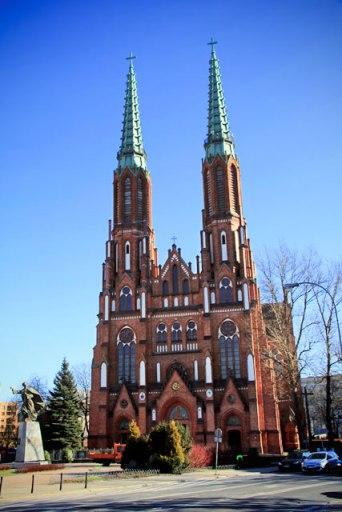 Catedral de São Miguel Arcanjo e São Floriano, o Mártir (Parafia Katedralna Św. Michała Archanioła i Św. Floriana Męczennika), em Praga