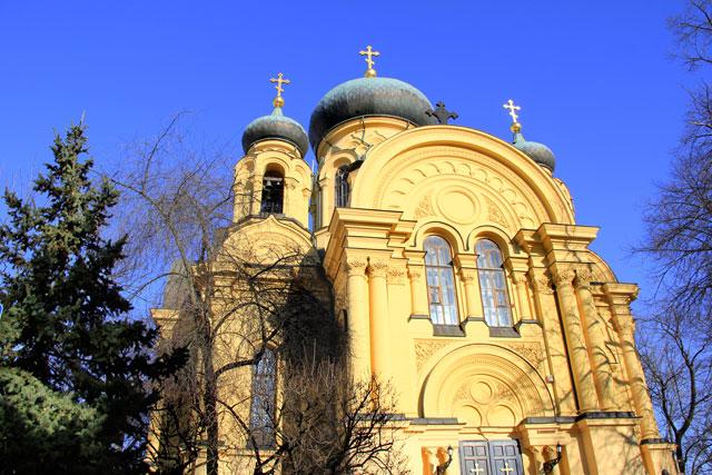 Catedral de Santa Maria Madalena (Cerkiew Metropolitalna Św. Marii Magdaleny), em Praga