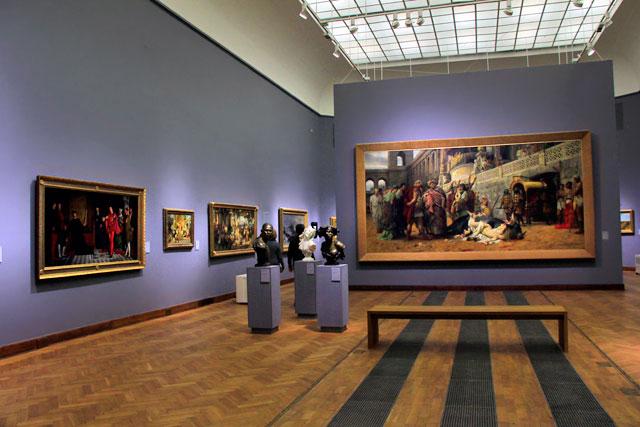 Galeria dos Antigos Mestres Europeus, no Museu Nacional de Varsóvia